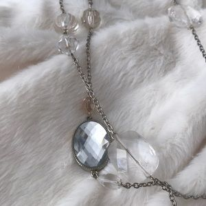 Vintage style long necklace
